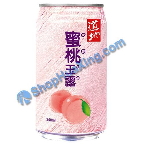 04 Peach Juice Drink 道地 蜜桃玉露 340ml