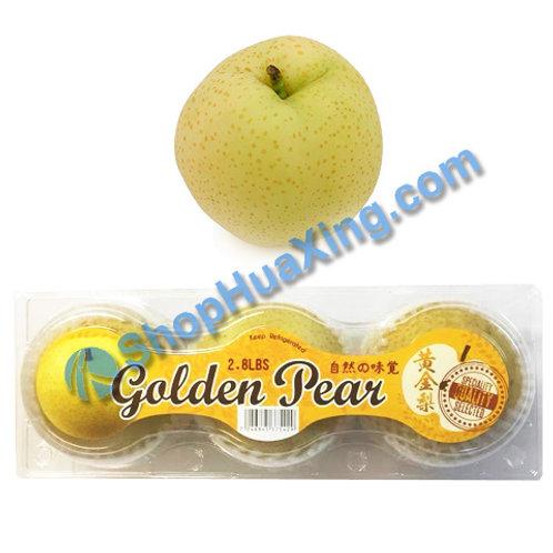 01 Golden Pear 1Kg 3pc 新高梨 南水梨 黄金梨 3颗/盒