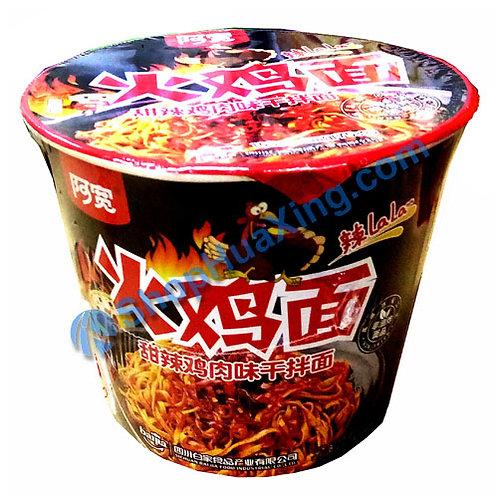 03 Noodle w. Sweet & Hot Chicken Flv 阿宽火鸡面 甜辣鸡肉味干拌面 105g