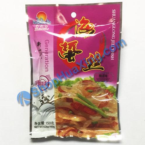 01 Jelly Fish Sliced Sweet Sour Flv. 海之味 海蜇丝 酸甜味 150g