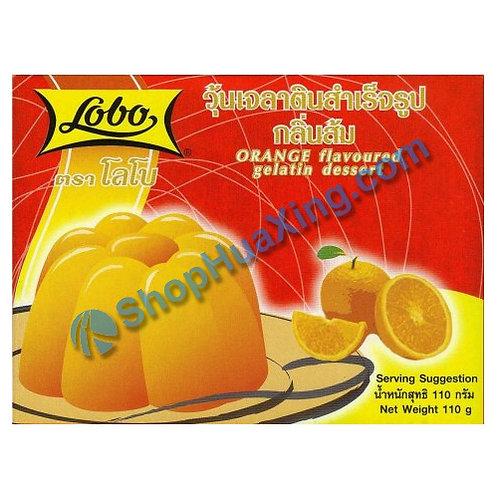03 Lobo Orange Flv. Gelatin Dessert 橙子果冻粉 110g