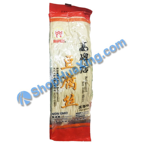 05 Soy Tofu Slices Five Spices Flv 五谷丰 高碑店 冷冻豆腐丝 五香味 250g