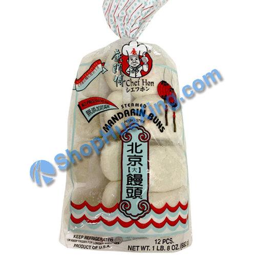 05 Chef Kon Peking Mandarin Buns 康师傅 北京大馒头 682g