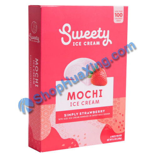 05 Sweety Mochi Ice Cream Simply Strawberry 草莓冰淇淋 240g