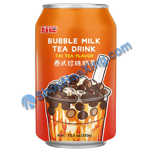 04 Bubble Milk Tea Drink Thai Tea Flv. 红牌 泰式珍珠奶茶 350g