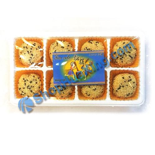 04 Sesame Rice Cake 芝麻麻糬 240g