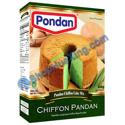 03 Pondan Pandan Chiffon Cake Mix 邦顿 班兰蛋糕粉 14oz