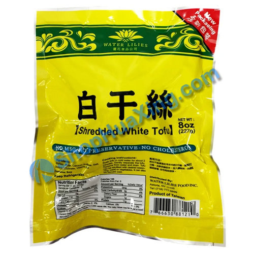 04 Shredded White Tofu 莲花食品 白干丝 8oz