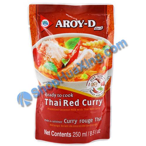 05 Aroy-d RTC Thai Red Curry 泰国红咖喱 250ml