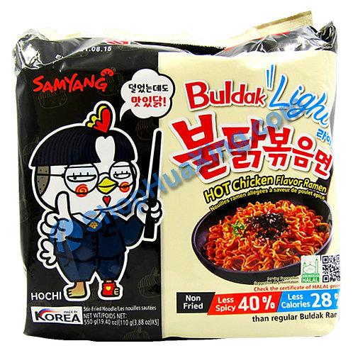 03 SamYang Hot Chicken Ramen Light 辣鸡拉面 清淡 110gx5pkg