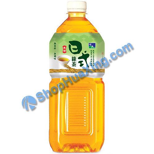 04 Japanese Green Tea Unsweetened 悦氏 无糖日式绿茶 2L