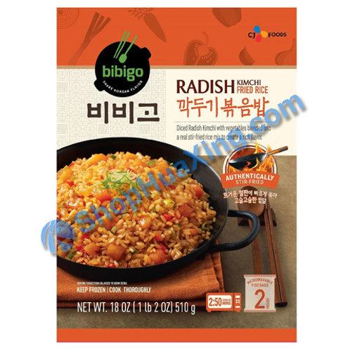 06 Bibigo Radish Kim Chi Fried Rice 萝卜泡菜炒饭 510g