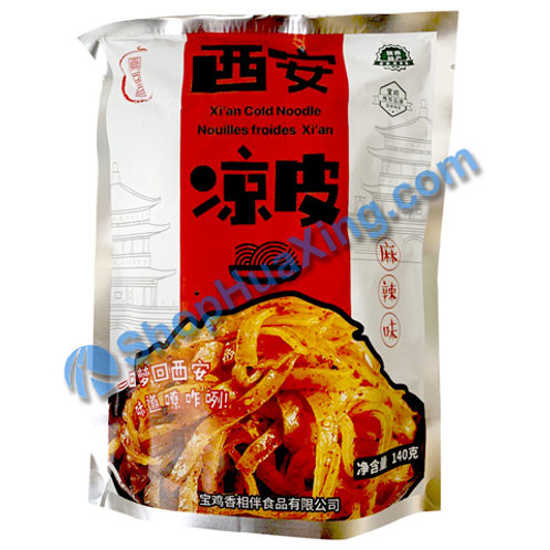 03 Xian Cold Noodle -Spicy Flv 凤回首 西安凉皮 麻辣味 140g
