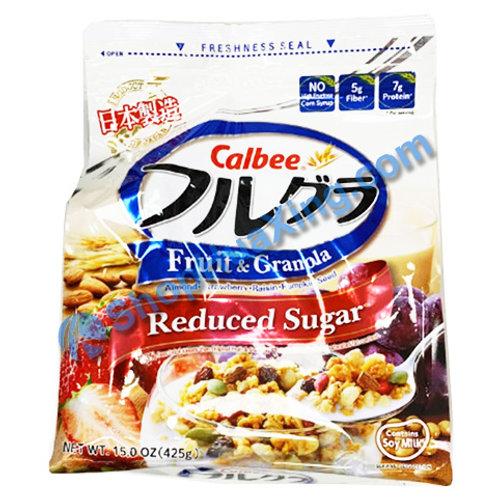 09 Calbee Fruit & Granola Reduced Sugar 早餐麦片 减糖 15oz