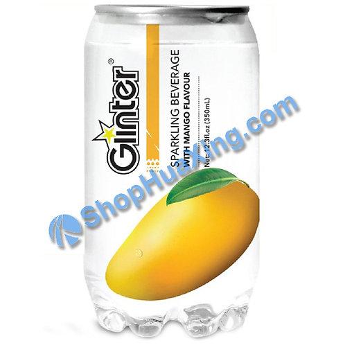 04 Glinter Sparkling Beverage w. Mango Flv. 苏打汽水 芒果味 350ml