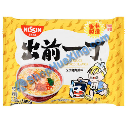 03 Nissin XO Sauce Seafood Flv Instant Noodle 出前一丁面 XO酱海鲜味 100g