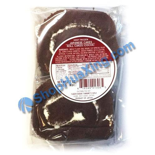 04 Yugen Kaisha Japanese Roll Cake Cocoa Flv 可可味蛋糕卷 220g