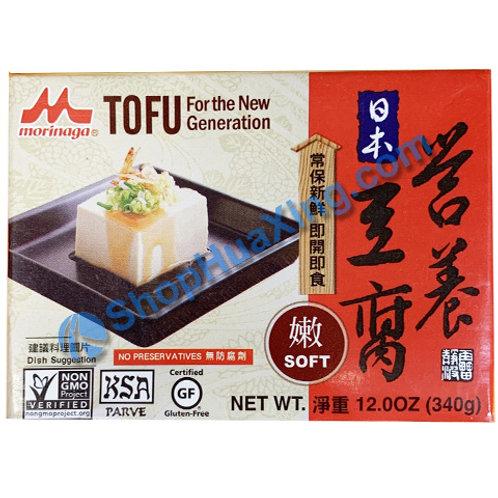 04 Morinaga Tofu Soft 日本营养豆腐 嫩 340g