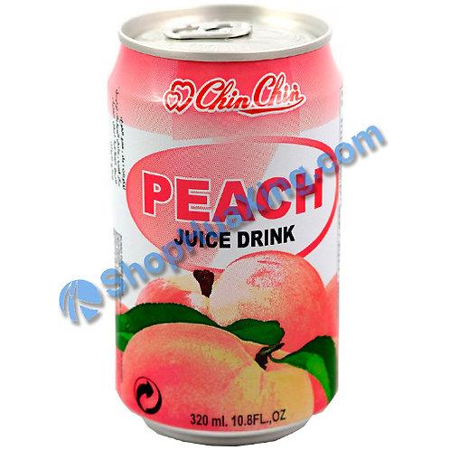 04 Chin Chin Peach Juice Drink 亲亲 水蜜桃汁 320ml