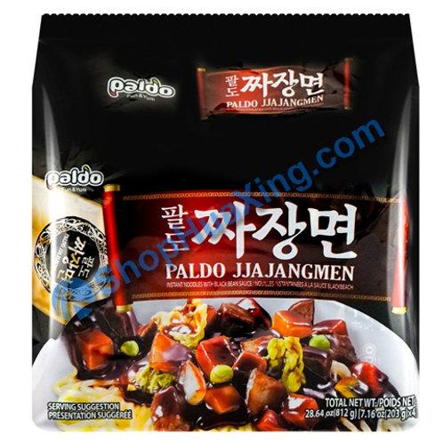 03 Paldo Jjajangmen 韩式炸酱面 4包装X 203g