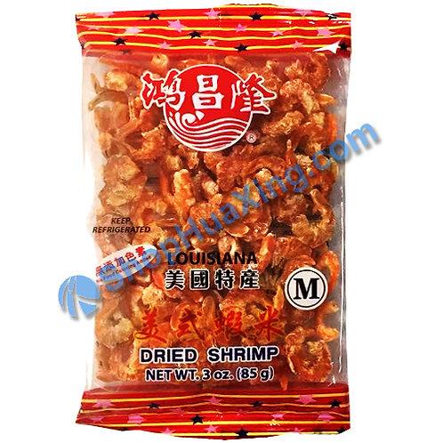 01 Dried Shrimp M 鸿昌隆 美式虾米 3oz