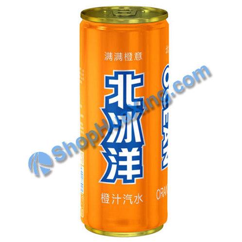 04  Orange Soda 北冰洋 橙汁汽水 330ml