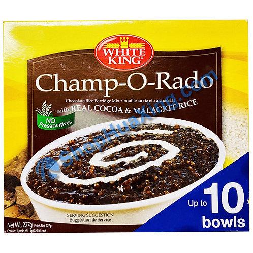 03 White King Champordo Chocolate Rice Porridge Mix 巧克力粥 227g