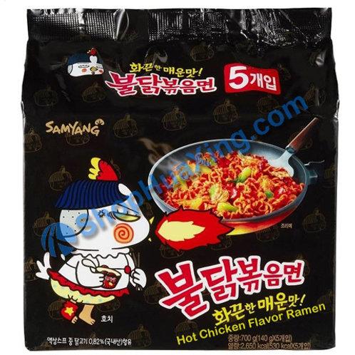 03 SamYang Hot Chicken Ramen 辣鸡汤拉面 140gx5pkg