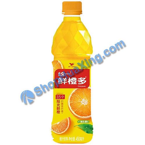 04 Orange Juice Drink 统一 鲜橙多 450mL