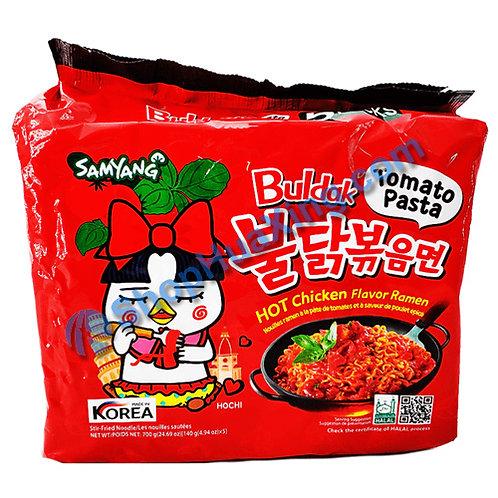 03 SamYang Tomato Pasta Hot Chicken Ramen  辣鸡拉面 番茄味 140gX5包