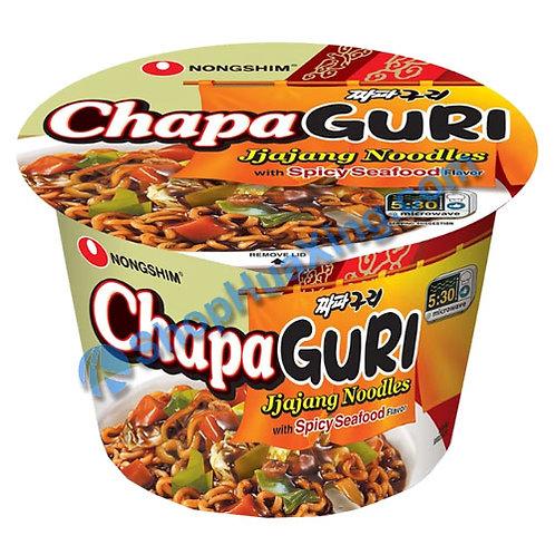 03 NongShim ChapaGuri Jjajang Noodles w. Spicy Seafood Flv 农心 辣海鲜味炸酱面 碗装 114g