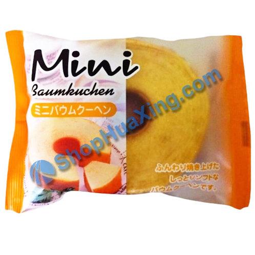 04 Taiyo Foods Mini Baumkuchen Original Flv 迷你千层蛋糕 原味 80g