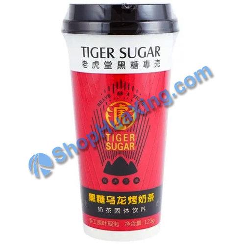 04 Tiger Sugar Milk Tea Brown Sugar Oolong Flv 老虎堂 黑糖乌龙烤奶茶 123g