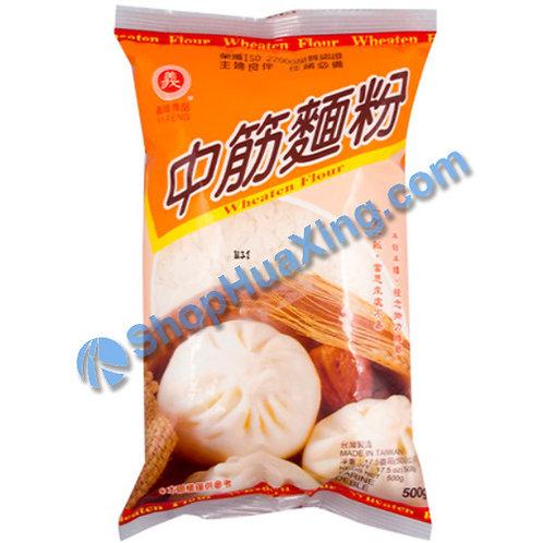 03 Wheaten Flour 义峰 中筋面粉 500g