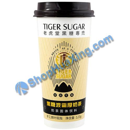 04 Tiger Sugar Milk Tea Brown Sugar Flv 老虎堂 黑糖波霸厚奶茶 123g