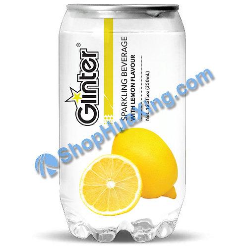 04 Glinter Sparkling Beverage w. Lemon Flv. 苏打汽水 柠檬味 350ml