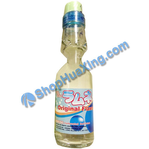04 Nishin Original Flavor Ramune 日新弹珠汽水 原味 200ml