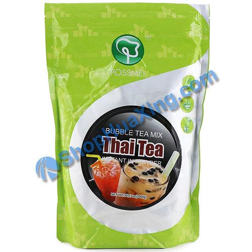 03 Possmei Bubble Tea Mix Instant in Powder Thai Tea Flv. 珍珠奶茶粉 泰茶味 1000g