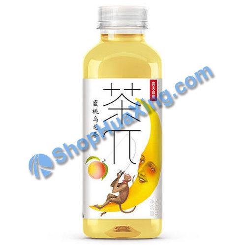 04 Peach Oolong  Teas  农夫山泉 茶π 蜜桃乌龙茶  500ml