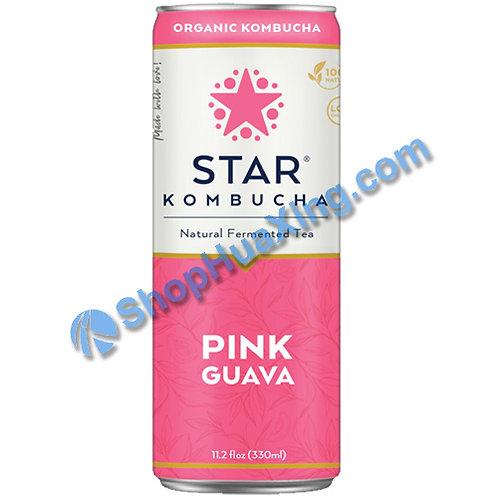 04 Star Kombucha Pink Guava 养生减肥茶 红番石榴味 330mL
