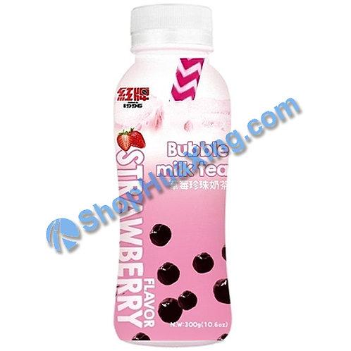 04 Bubble Milk Tea Strawberry 红牌 草莓珍珠奶茶 300g