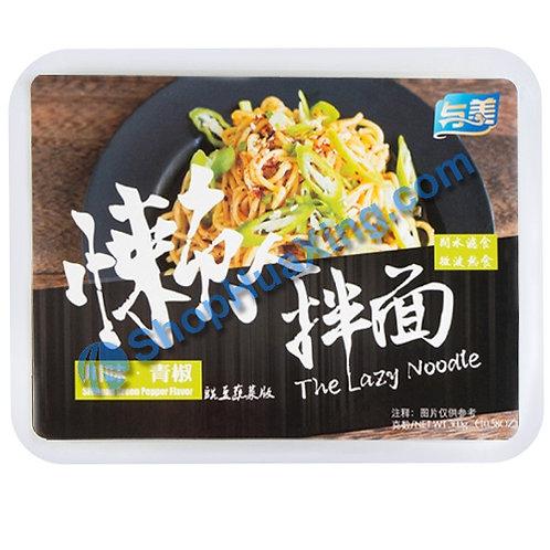 03 The Lazy Noodle w. SiChuan Green Pepper Flv. 与美 懒人拌面 川味青椒 300g