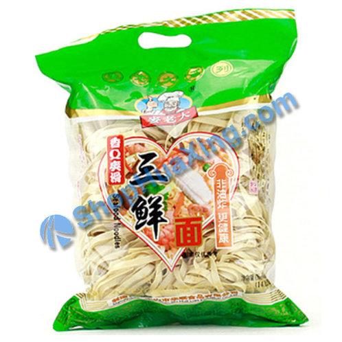 03 Dried Seafood Noodle 麦老大 三鲜面 400g