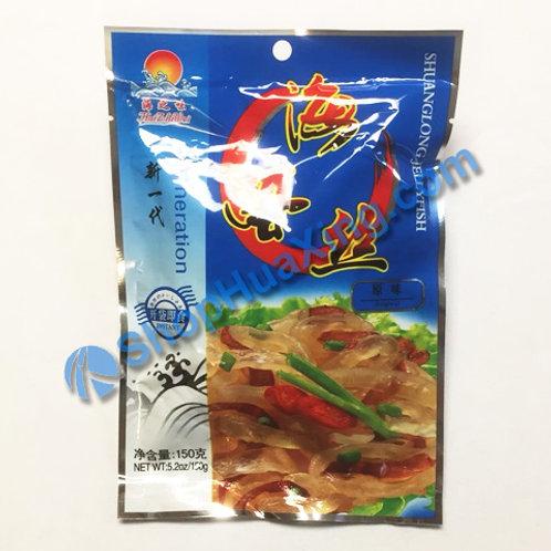 01 Jelly Fish Sliced Original Flv. 海之味 海蜇丝 原味 150g