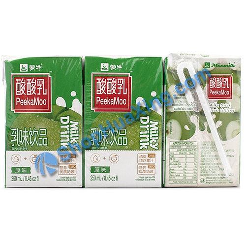 04 MN Milky Drink Original Flv. 蒙牛酸酸乳 原味 6x250mL