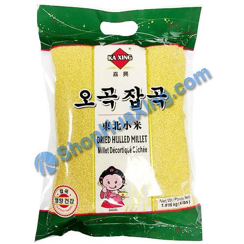 04 Dried Millet 嘉兴 东北小米 4LB