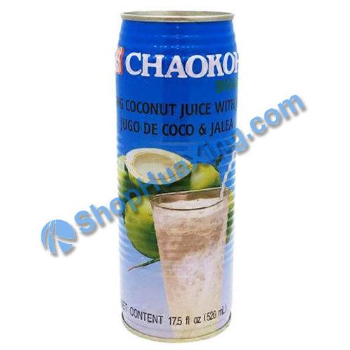04 Chaokoh Coconut Juice 椰子果汁 520ml
