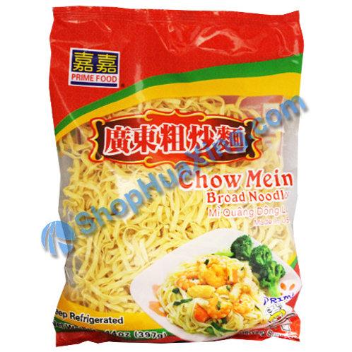06 Chow Mein Broad Noodle 嘉嘉 广东粗炒面 12oz
