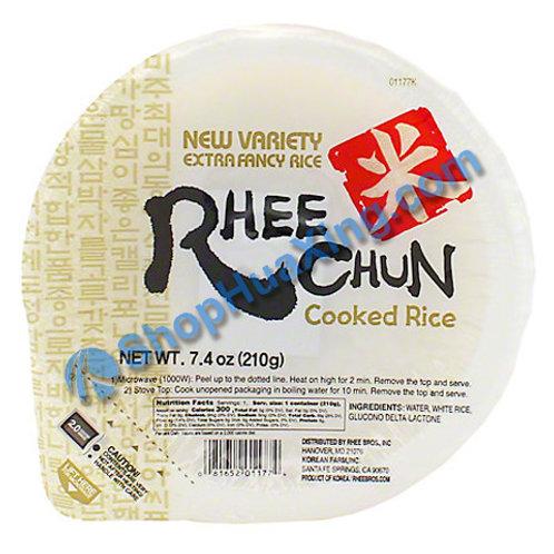 03 Rhee Chun Cooked Rice  熟米饭 210g