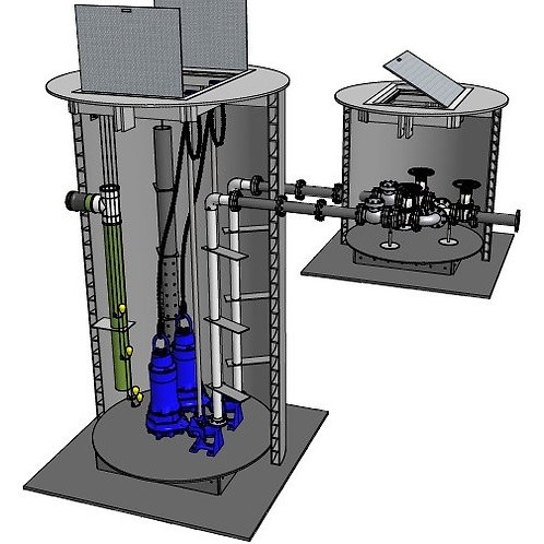 Turnkey Sewage Pump Station